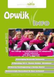 Infoblad april 2012 - Opwijk
