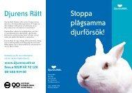 Ladda ned pdf - Djurens Rätt