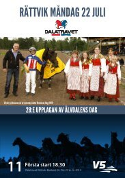 Program - Dalatravet