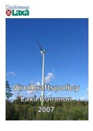 Vindkraftspolicy - Laxå kommun