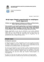 actieplan wapens.pdf - Milquet.belgium.be
