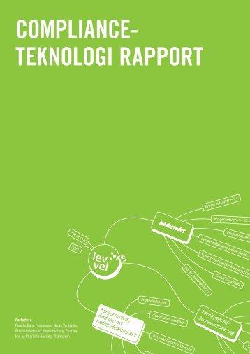Complianceteknologi rapport - Lev Vel