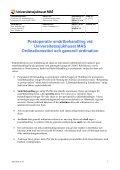 Riktlinjer för behandling av postoperativ smärta på UMAS - Page 3