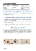 Riktlinjer för behandling av postoperativ smärta på UMAS - Page 5