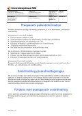 Riktlinjer för behandling av postoperativ smärta på UMAS - Page 6