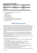 Riktlinjer för behandling av postoperativ smärta på UMAS - Page 7