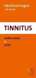 Tinnitus - spørgsmål og svar pjece - Høreforeningen