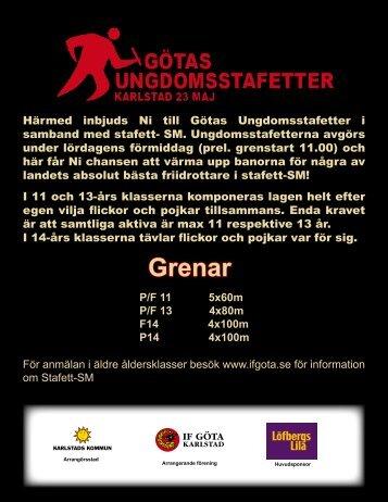 Grenar - IF Göta Karlstad