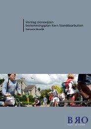 Verslag zienswijzen bestemmingsplan Kern Standdaarbuiten d.d. ...