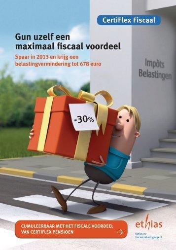 CertiFlex Fiscaal - Ethias