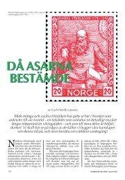 Då asarna bestämde - Nordisk Filateli