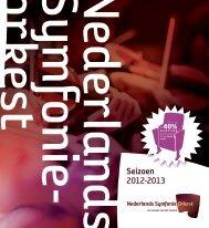 Klik hier om de brochure te downloaden. - Nederlands Symfonieorkest