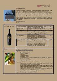 Beste wijnliefhebber, Unwined is een dikke maand open! We zijn ...
