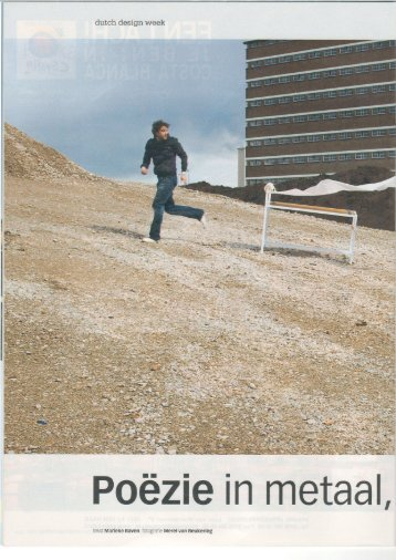 Poëzie in metaal, piepschuim en papier (pdf) - Tekst te koop