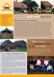 Nieuwsbrief 2005 - Pape Rietdekkers