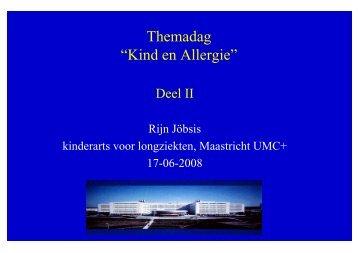Allergie - Verpleegkundig Astma/COPD Netwerk Limburg