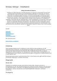 Kliniska riktlinjer_ Endoftalmit - Sveriges ögonläkarförening