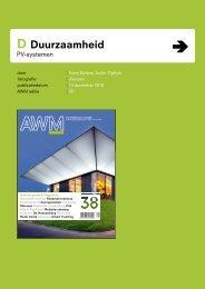 Architectenweb Magazine- Powerglaz - Hermans Techniek