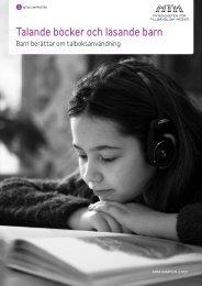 Talande böcker och läsande barn - BibliotekMitt