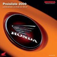Preisliste 2009 - Autohaus Walter Moehle