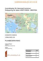 Planförslag - Hammarö kommun