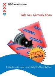 Safe Sex Comedy Show - GGD Amsterdam