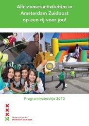 Alle zomeractiviteiten in Amsterdam Zuidoost op een rij voor jou!
