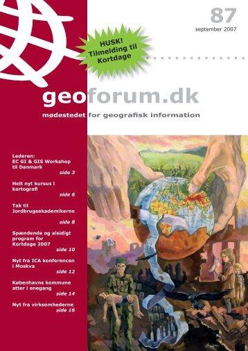 87 geoforum.dk - GeoForum Danmark