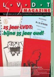 01-12-2005 LVDT-magazine Nummer 4 - Landelijke Vereniging ...