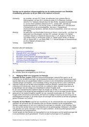 Verslag van de openbare uitloopvergadering ... - Gemeente Utrecht
