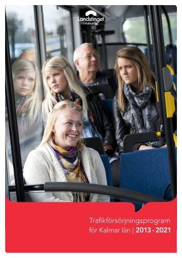 Trafikförsörjningsprogram - Kalmar Läns Trafik