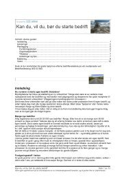 Kan du, vil du, bør du starte bedrift (pdf) - Altinn