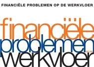 FINANCIËLE PROBLEMEN OP DE WERKVLOER - Nibud