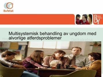 Behandling av ungdom med rus og adferdsproblemer