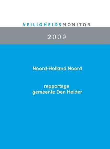 helder 2009.pdf>Veiligheidsmonitor 2009 - Gemeente Den Helder