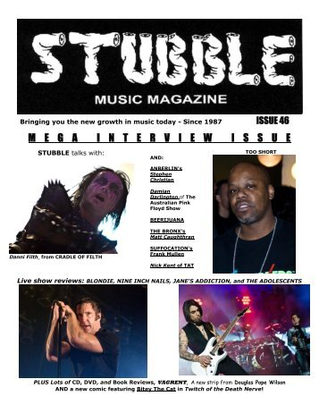 right click here to download - Stubble Musiczine