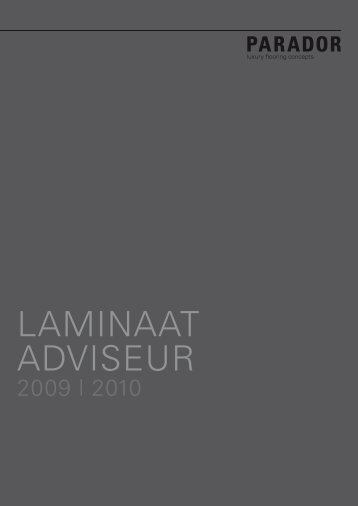 LAMINAAT ADVISEUR - Comfort Kasten