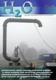 Vakblad H2O nummer 23, 25 november 2011 - H2O - Tijdschrift voor ...