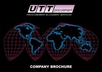 UTT Company Brochure - UTT Procurement