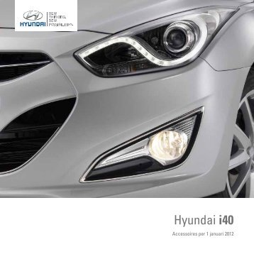 Hyundai i40 accessoires