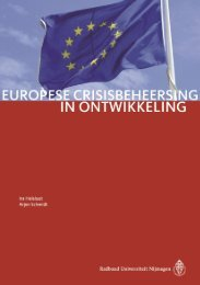 (2012). Europese crisisbeheersing in ontwikkeling. - Crisislab