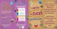 Limitez votre consommation de sucre tout en restant gourmand - Inpes