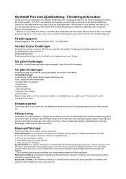 Olycksfall_Plus_Sjuk 2013-03-22 inkl allmänna ... - Dina Försäkringar