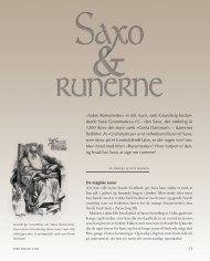 Sakse Runemester« er det navn, som Grundtvig fordan ... - Siden Saxo