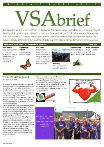 De website van VSA, de gemeente Veldhoven en het raadsnieuws ...