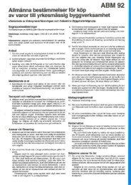 ABM 92 - Publikationer från Sveriges Byggindustrier