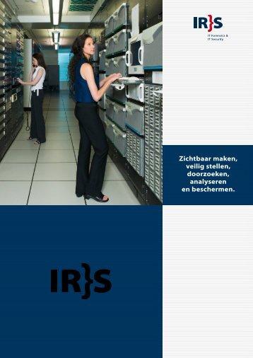 Zichtbaar maken, veilig stellen, doorzoeken, analyseren en ... - IRS
