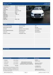 Audi A1 1.4 TFSI 19.950 EUR - Autohaus Schwalm