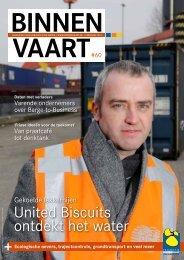 United Biscuits ontdekt het water - Promotie Binnenvaart Vlaanderen