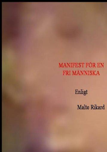 Manifest för en fri människa